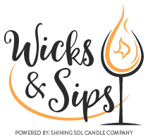 Wicks & Sips Logo