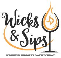 Wicks & Sips Logo