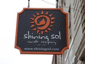 Shining Sol Sign